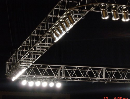 Flying Truss & Par Can Lighting
